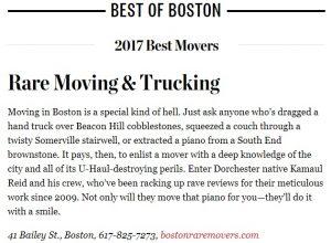 Best of Boston 2017